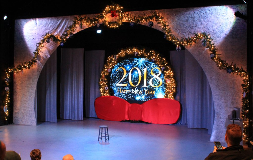 stage welcoming 2018
